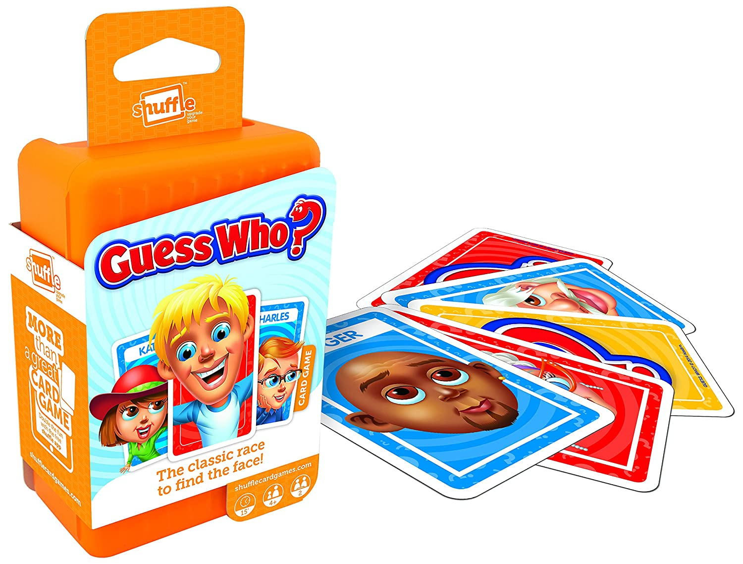 Guess Who Shuffle Card Game The Toy Verdict