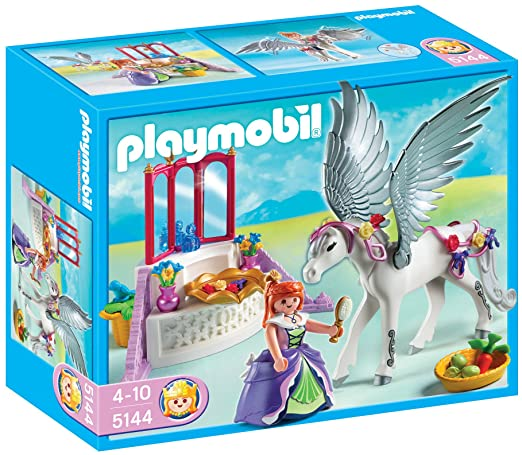 PLAYMOBIL Pegasus with Princess and Vanity