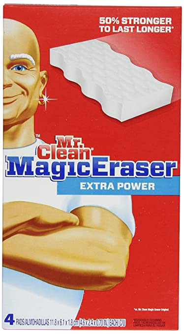 Mr Clean Magic Eraser Extra Power, 4 Count