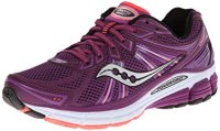 Saucony Women's Omni 13 Running Shoe,Purple/Coral,7.5 M US