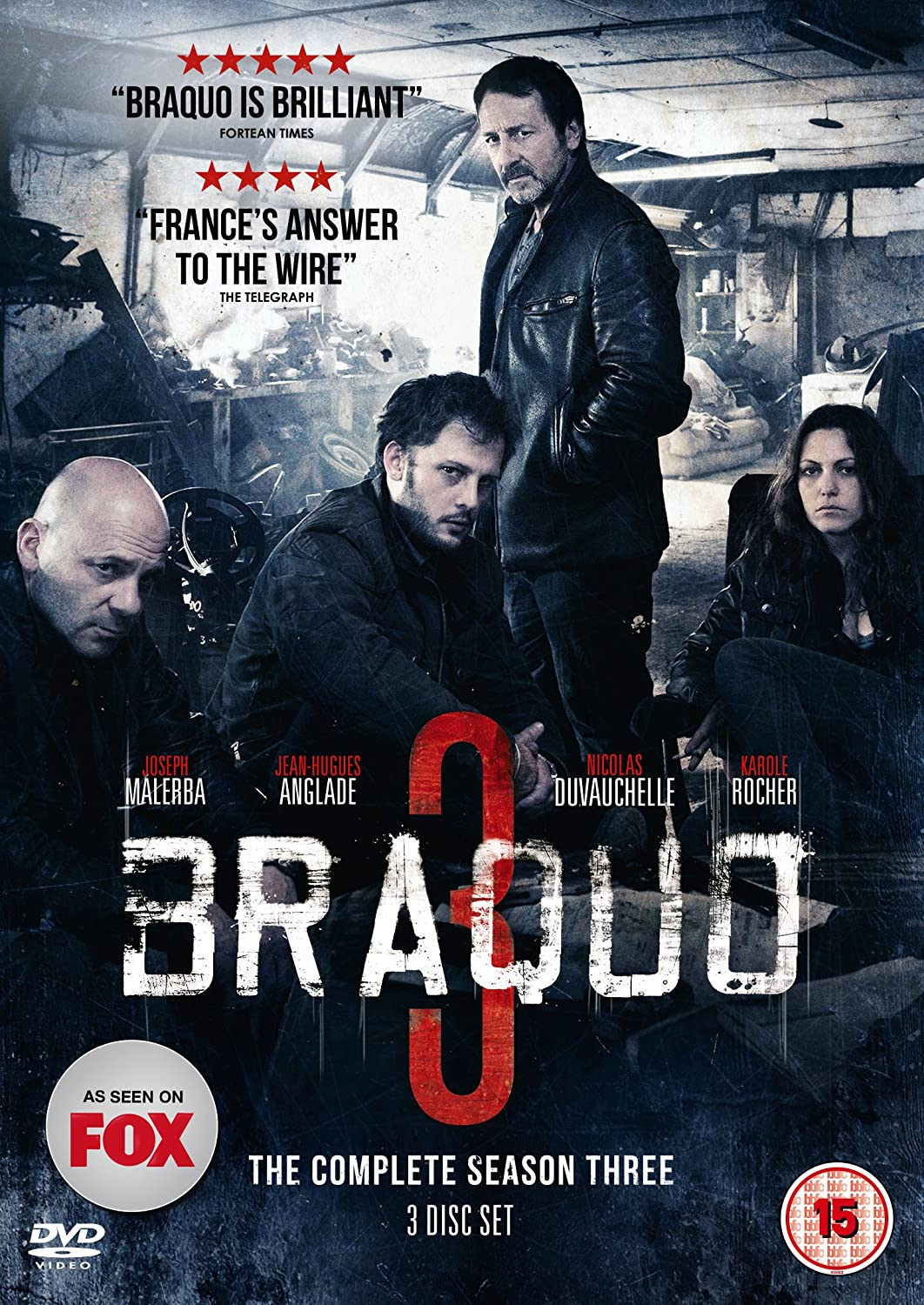 DVD Review Braquo The Complete Season Three