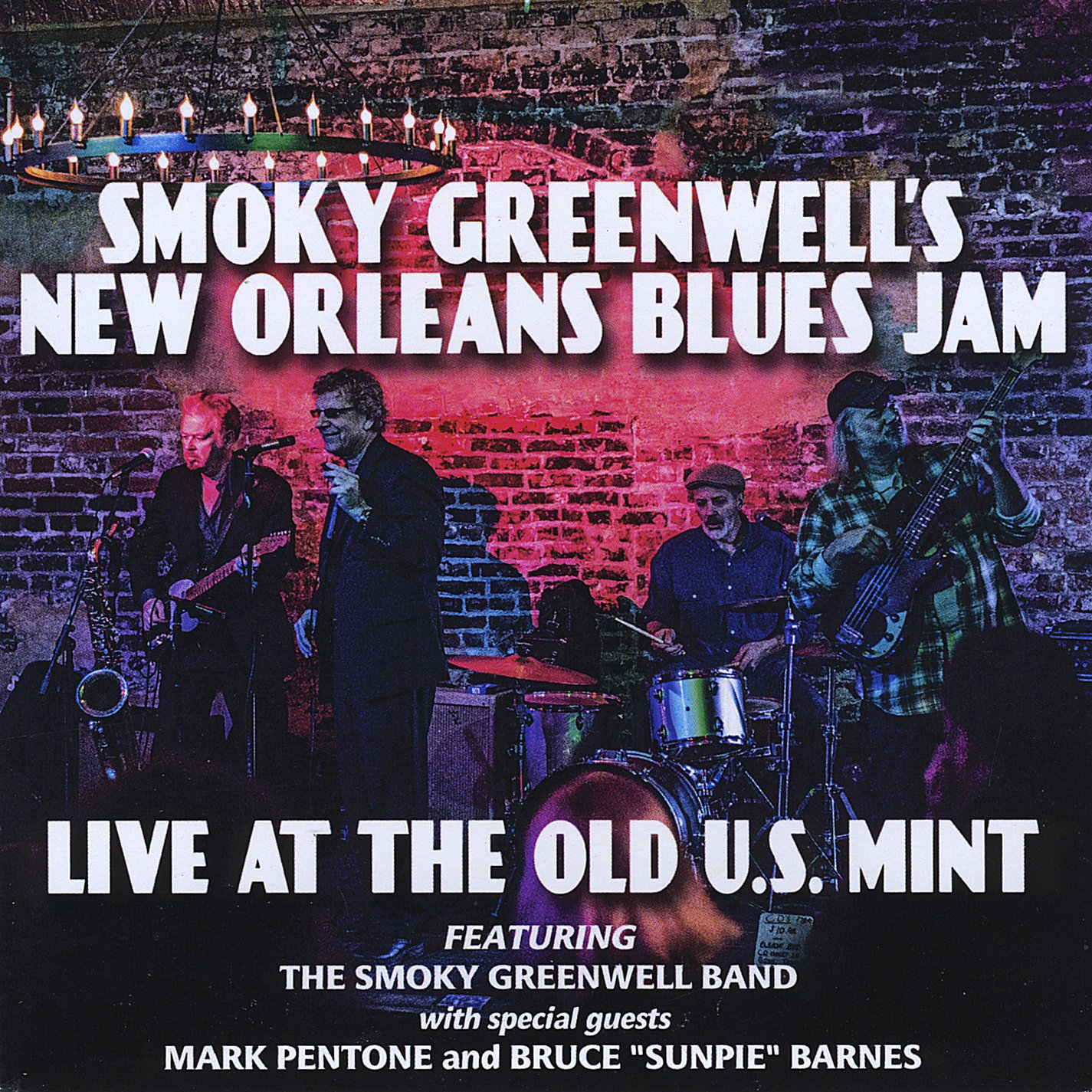 SMOKY GREENWELL'S NEW ORLEANS BLUES JAM Live At The Old US Mint