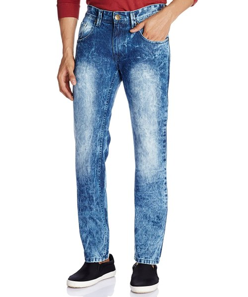 People Men's Tapered Fit Jeans