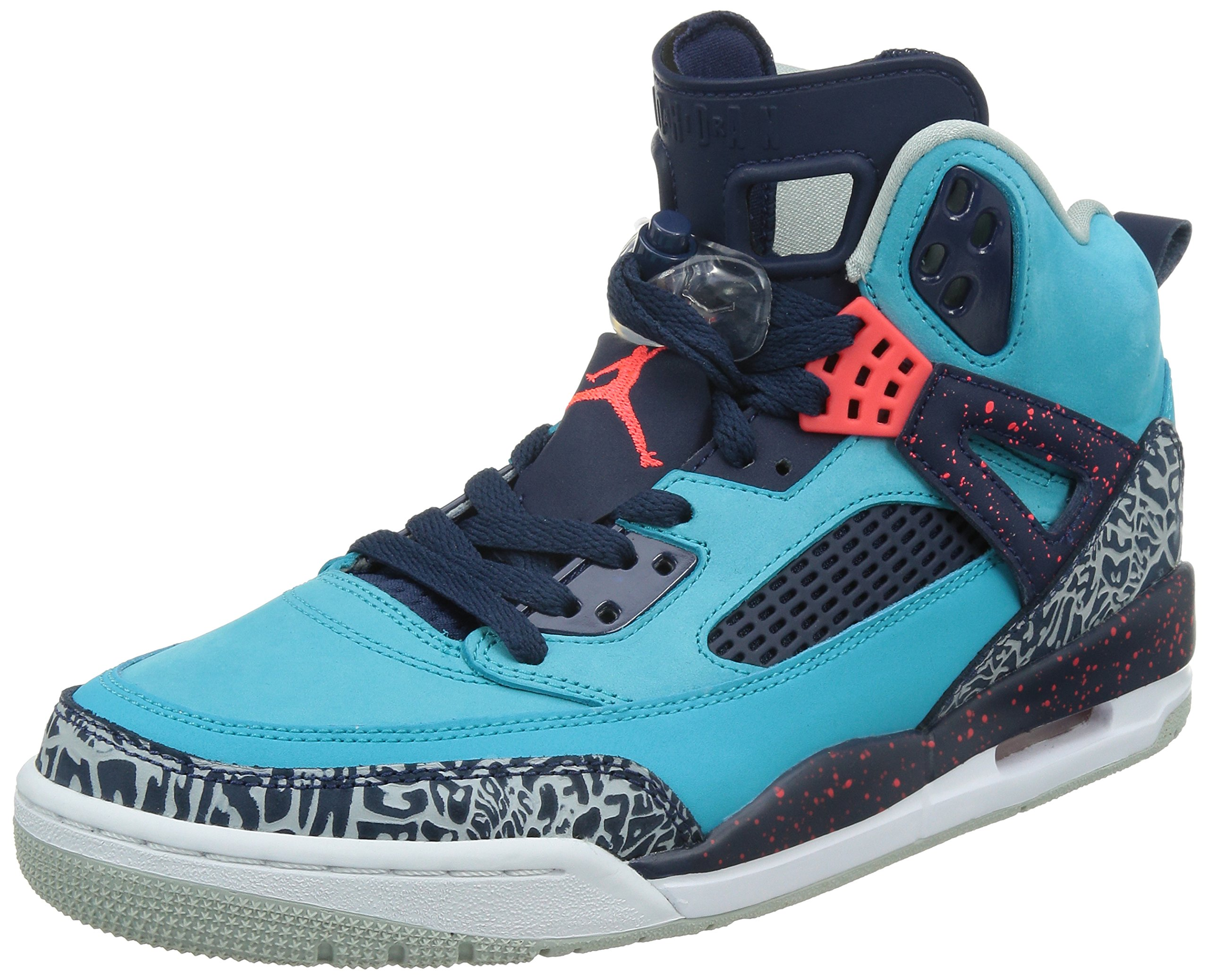 Jordan Spizike Men Lifestyle Casual Sneakers New Turquoise Blue