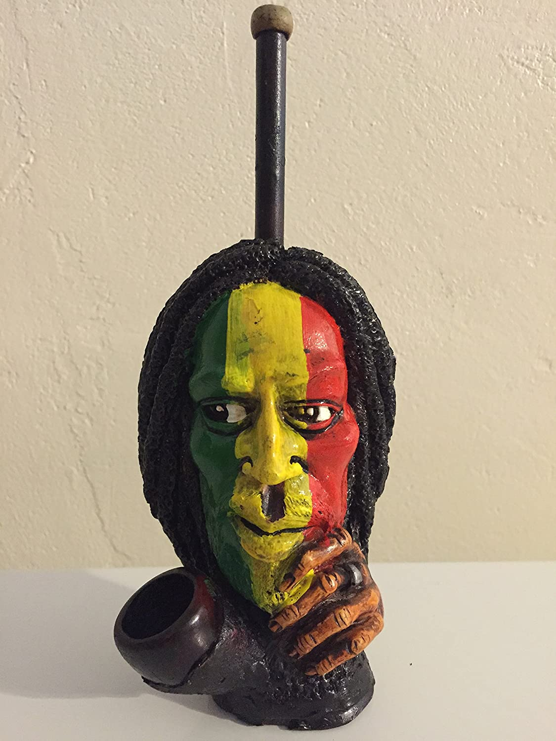Rasta Color Face Design