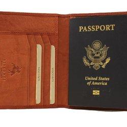 Visconti Soft Leather Passport Cover - POLO 2201