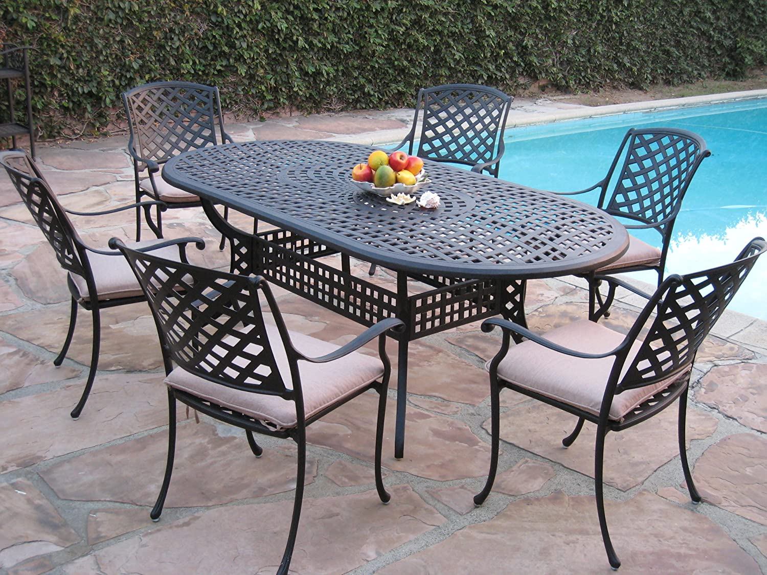 Cast Furniture Aluminum Patio