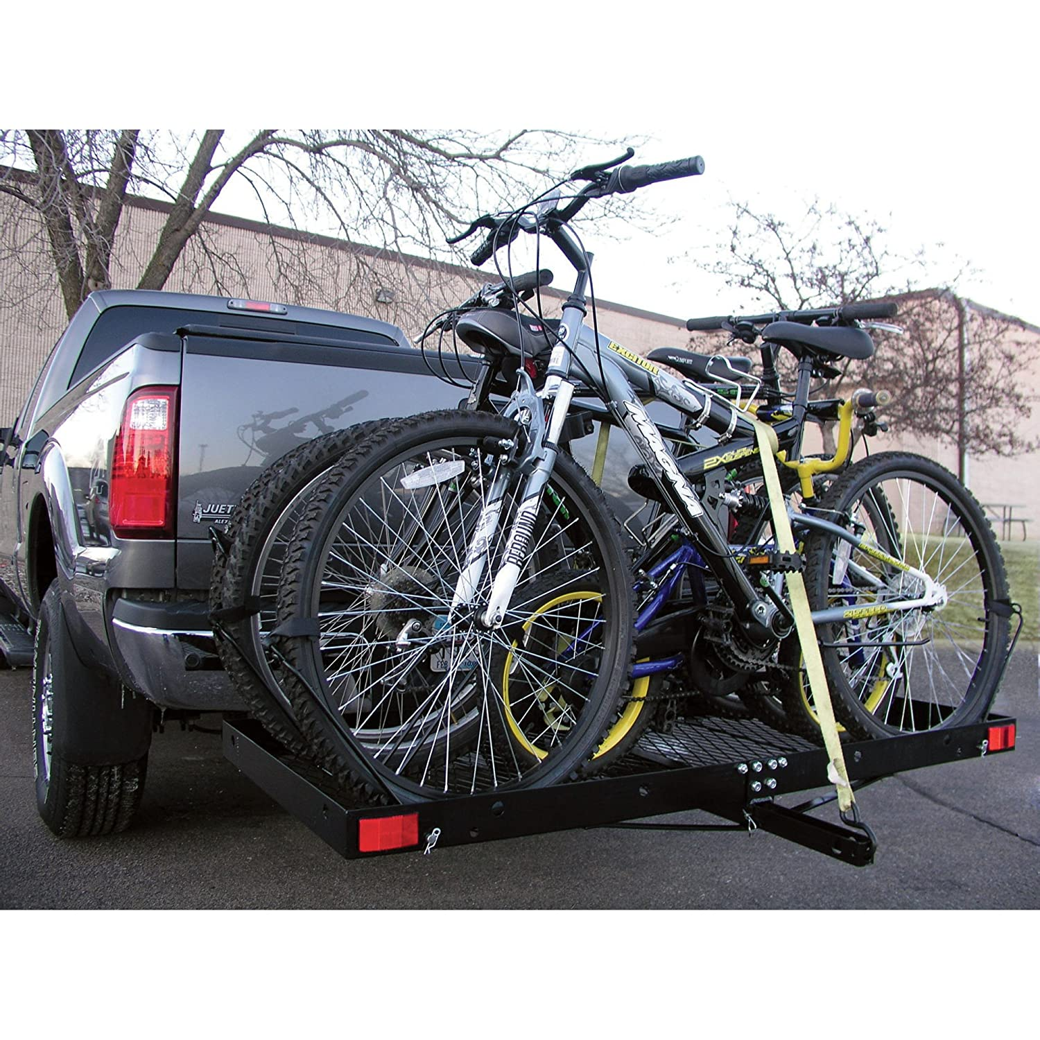 Cargo Carrier 4 Bike Rack 500lbs Capacity Tow Hitch