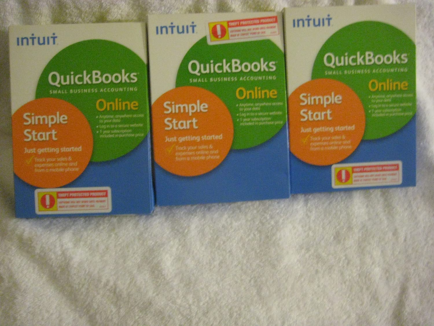 Intuit Quick Books Small Busiess Accounting Simple Smart