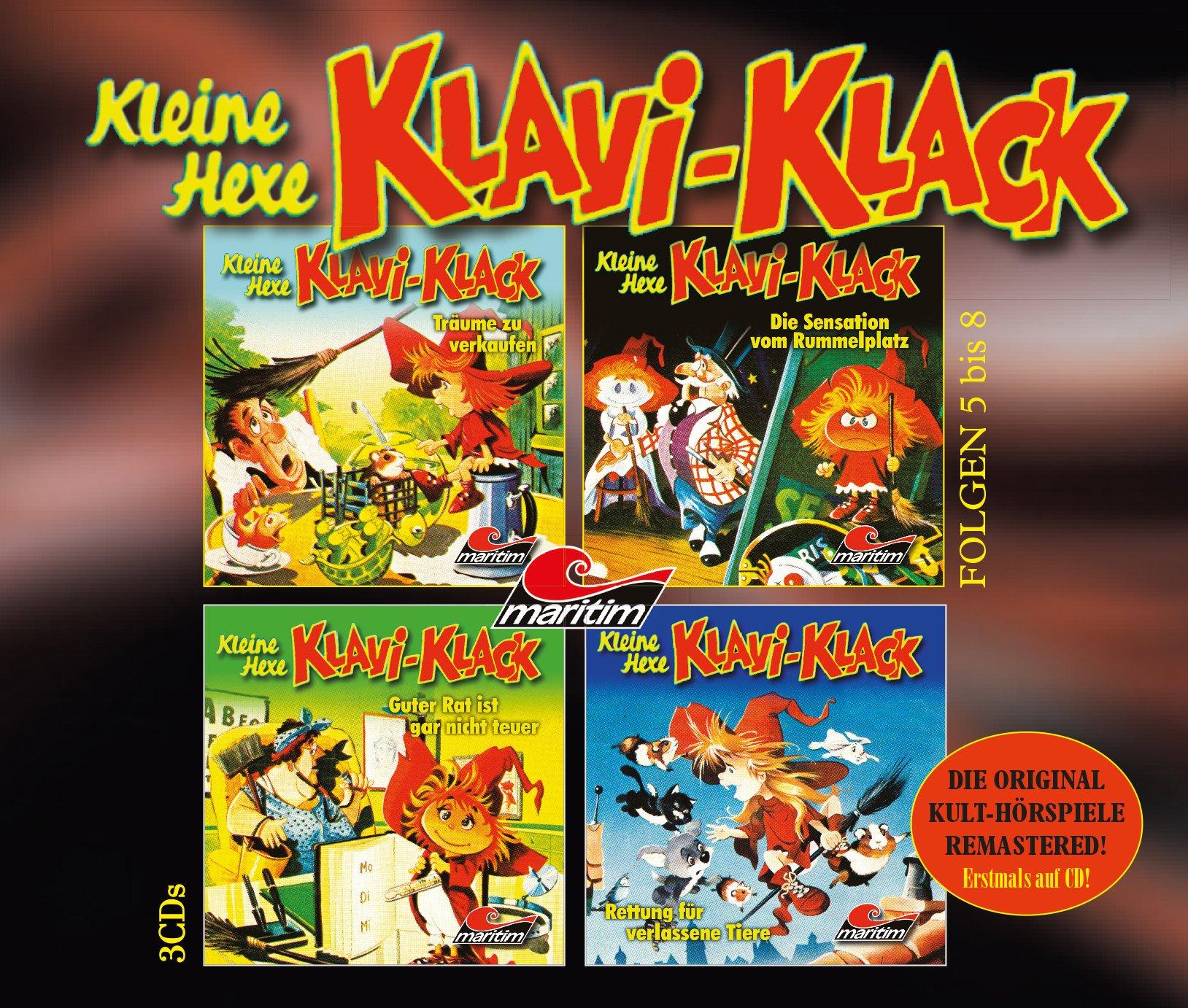 Kleine Hexe Klavi-Klack (5) Träume zu verkaufen - maritim 1980 / 2016