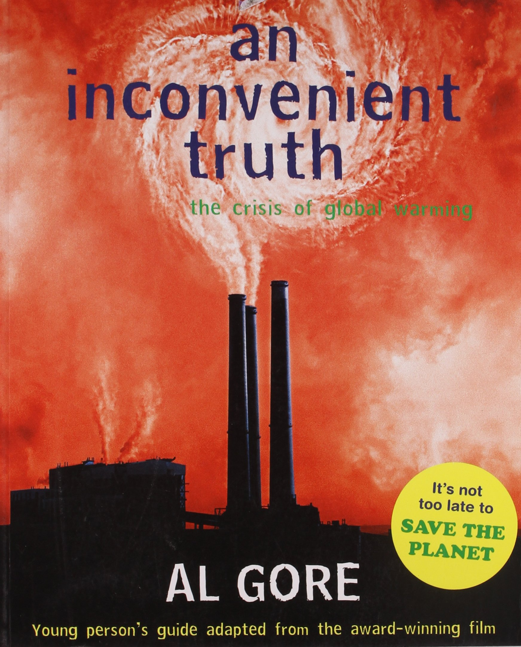 Image result for an inconvenient truth book cover