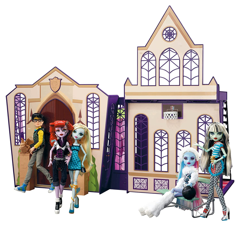 Kids Amp Baby Monster High High School Playset