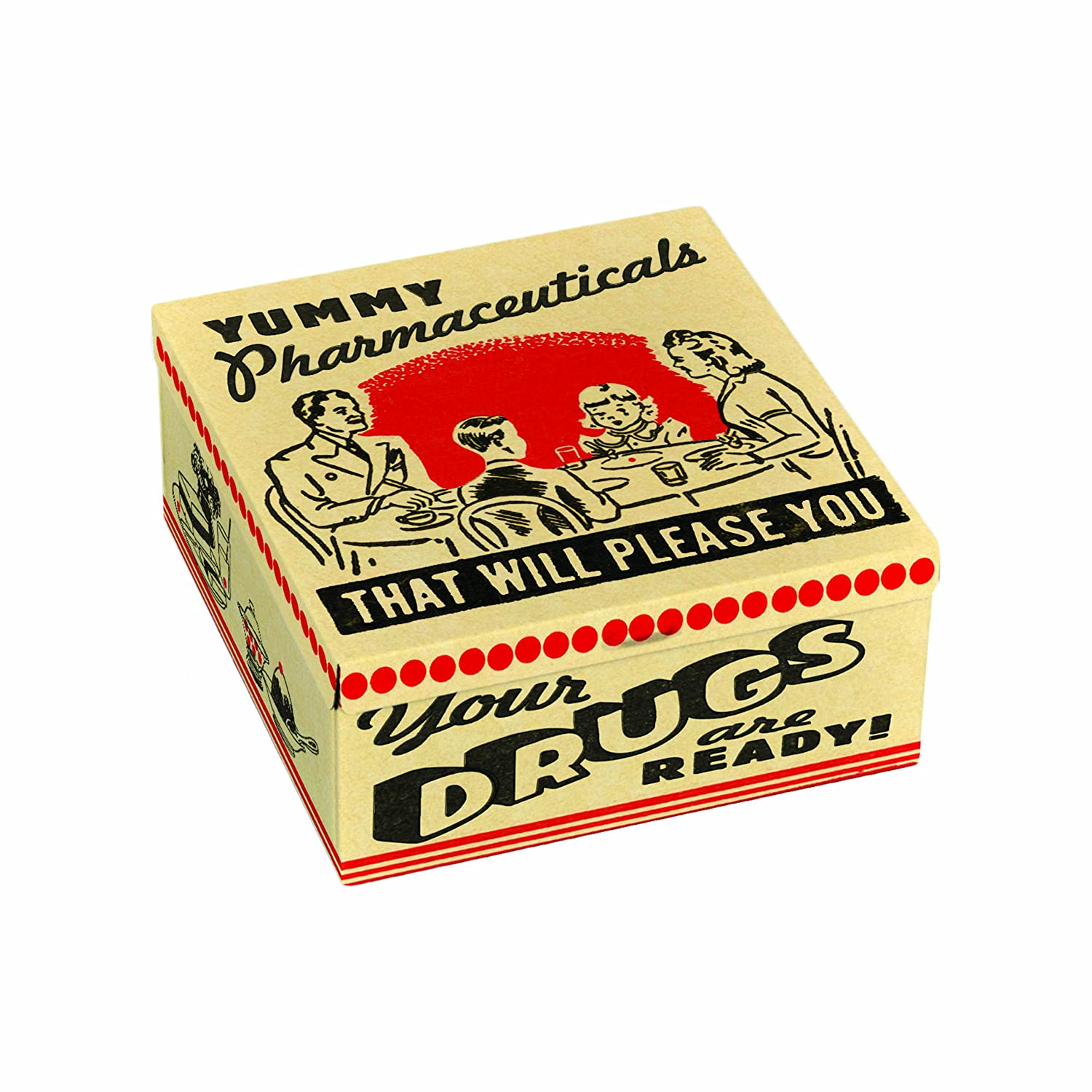 Blue Q Yummy Pharmaceuticals Petite Cigar Box