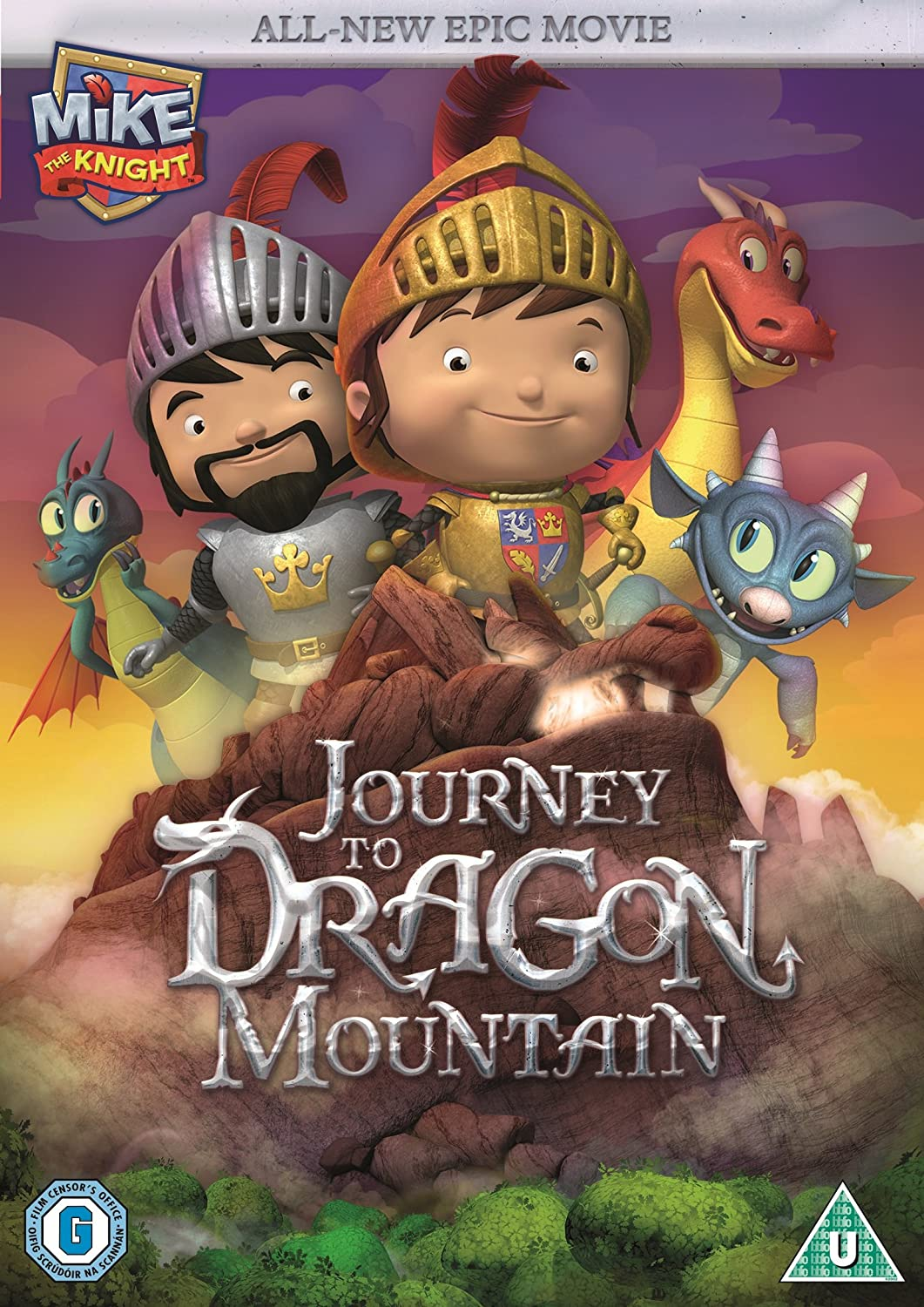 Mike the Knight Journey to Dragon Mountain