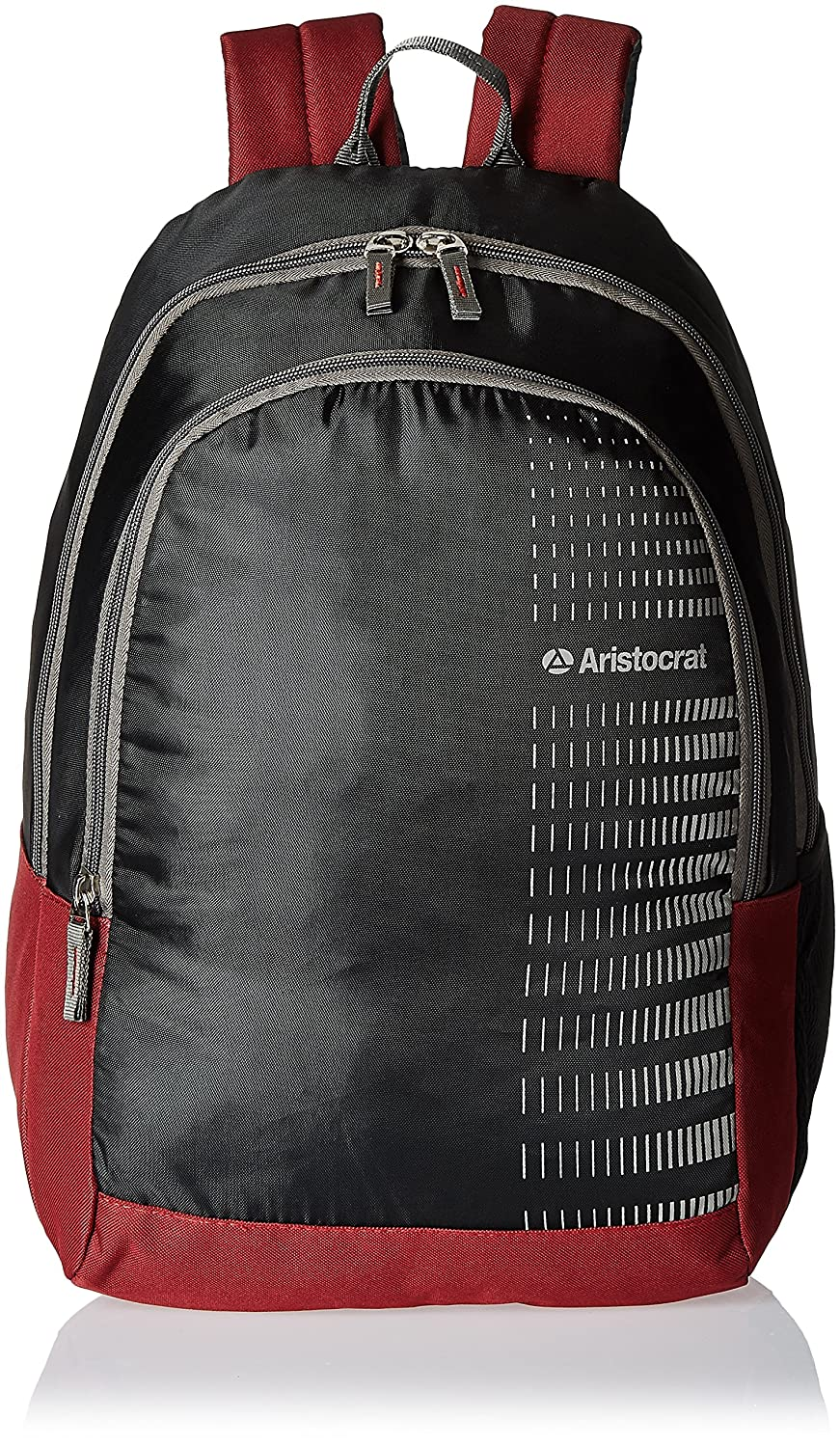 Aristocrat Pep 21 Ltrs Black Casual Backpack  - dealslama.com