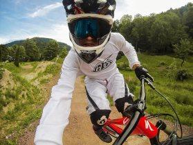 Captura de GoPro Hero en Mountain bike