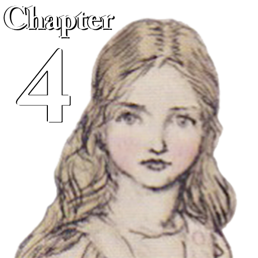 AlicewinksLite - Chapter 4 The Rabbit Sends in a Little Bill - 19th Century Fantasy, 20th Century Imagery, 21st Century Technology