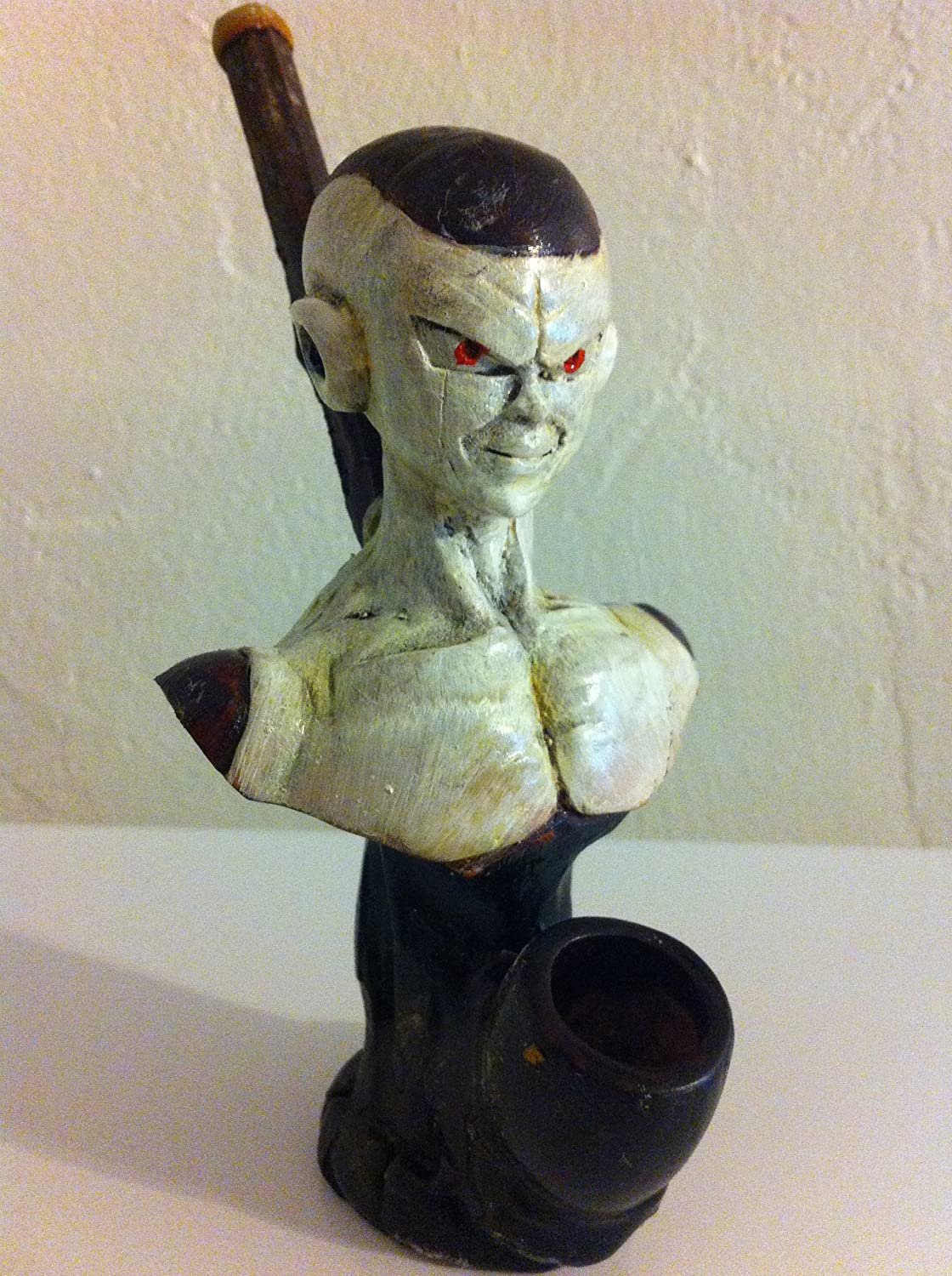 Handmade Tobacco Pipe, Frieza from Dragon Ball Z Design