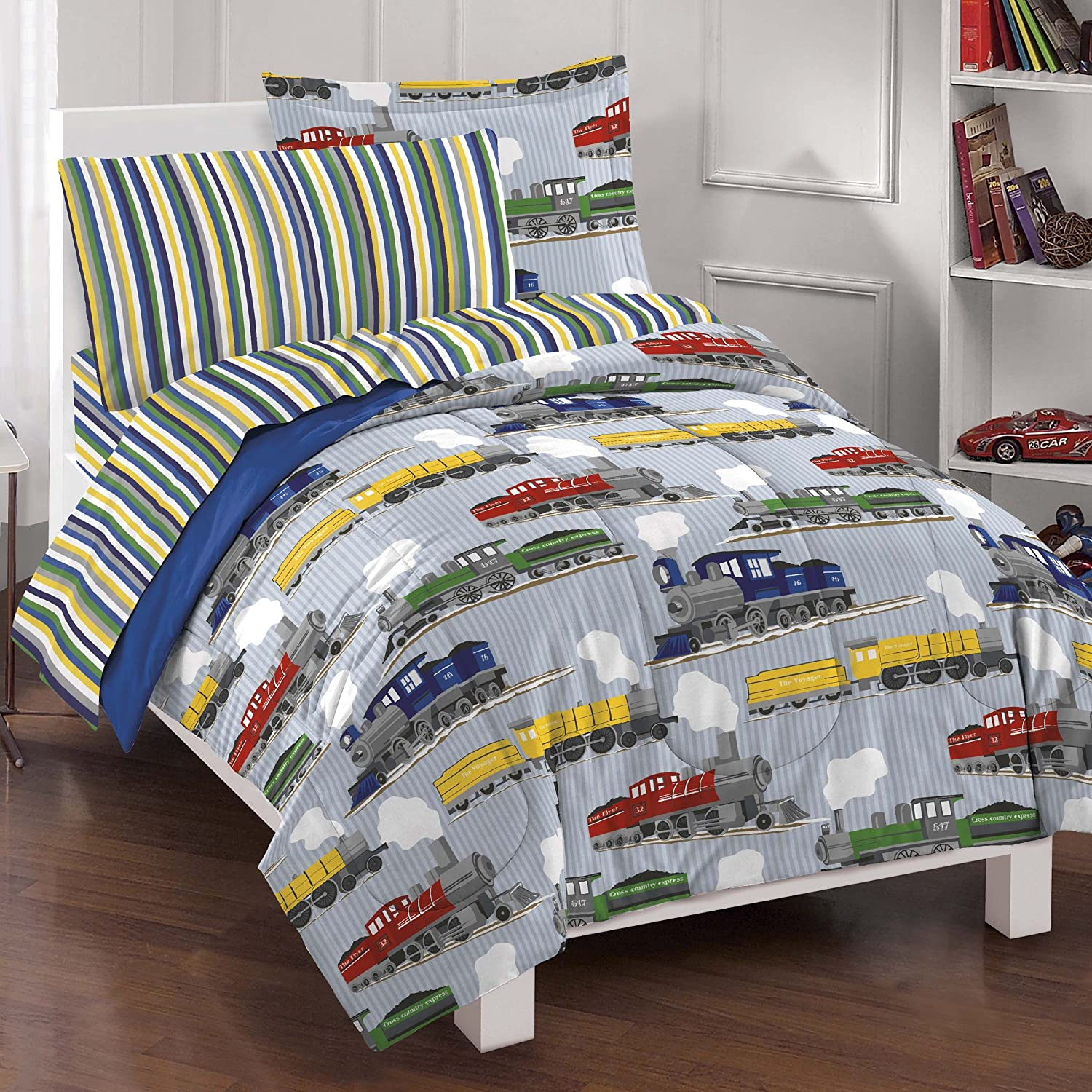 Twin Boy Toddler Bed Comforter