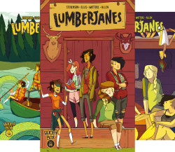 Lumberjanes (Issues) (24 Book Series) by  Noelle Stevenson Grace Ellis Shannon Waters Shannon Watters Faith Hicks Kat Leyh Shannon Watters Kate Leth