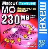 Amazon.co.jp: maxell データ用 3.5型MO 230MB Windowsフォーマット MA-M230.WIN.B1P: パソコン・周辺機器