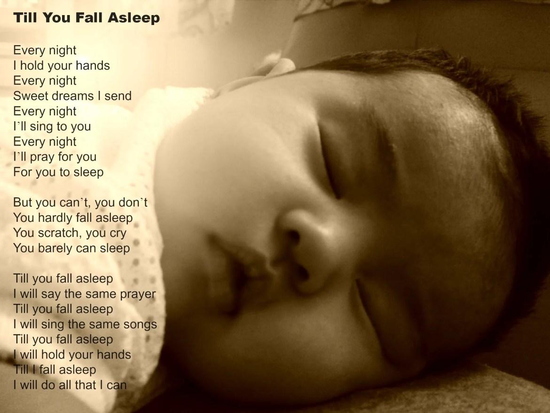 Poem for my Eczema Baby – Till You Fall Asleep | Eczema Blues
