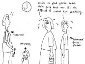 Grandparents caregiver for eczema children fatigue