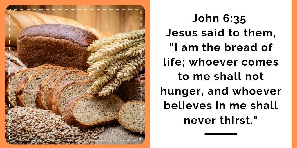 Eczema Devotional Jesus Bread of Life