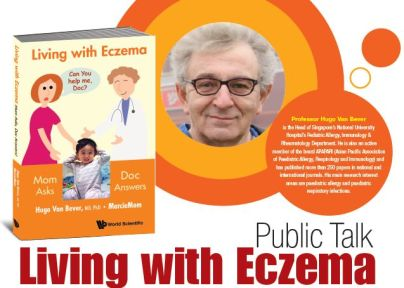 Book launch eczema