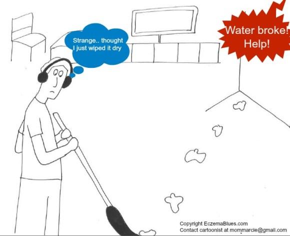 Mom NeedyZz Cartoon Labor Pains