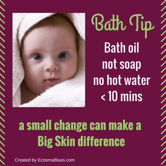 Bath Oil Preventive on Xerosis and Eczema