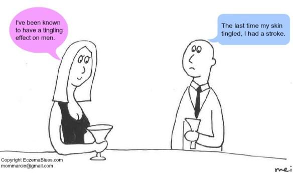 Skinish Mom Cartoon Columnist Skin Tingling Men