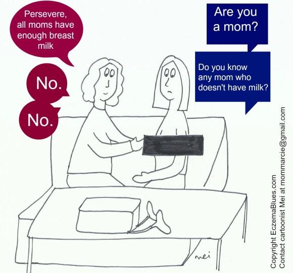Mom Needy Zz cartoon Lactation consultant breastfeeding