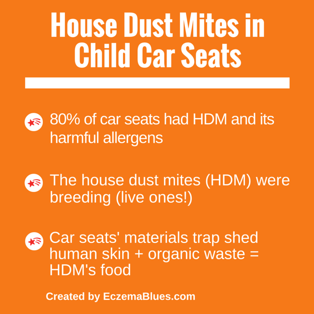 eczema news child car seats home for house dust mites. Black Bedroom Furniture Sets. Home Design Ideas