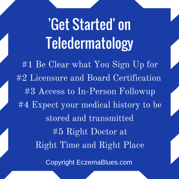 Teledermatology Get Started Pointers for Skin Patients