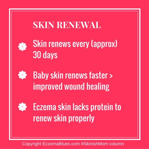 Skin Renewal in Baby and Eczema Skin