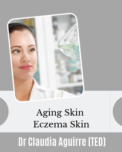 Aging Skin Eczema Skin Videos of Dr Claudia Aguirre Neuroscientist