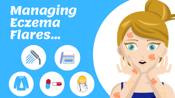 How to prevent and cure eczema flare ups? | Eczema Less