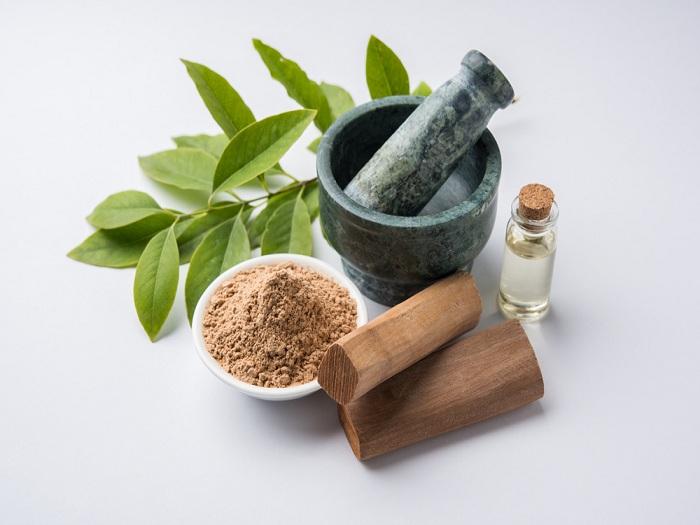 Sandalwood Essential Oils For Eczema Care