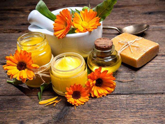 Herbal Treatments to improve the skin condition