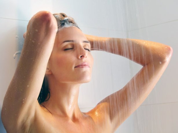 Lukewarm Bath or Showers Can Help