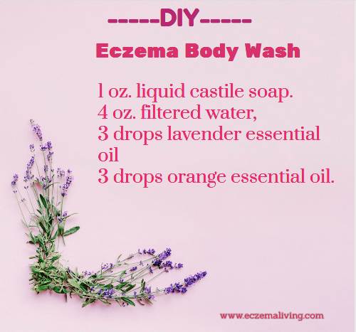DIY Eczema Body Wash