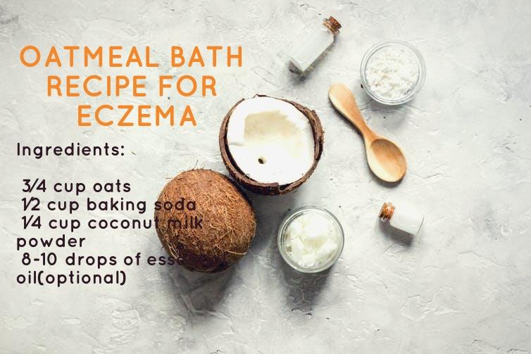 oatmeal bath recipes for eczema