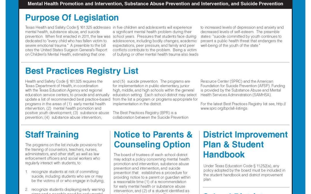 Suicide Prevention Guide
