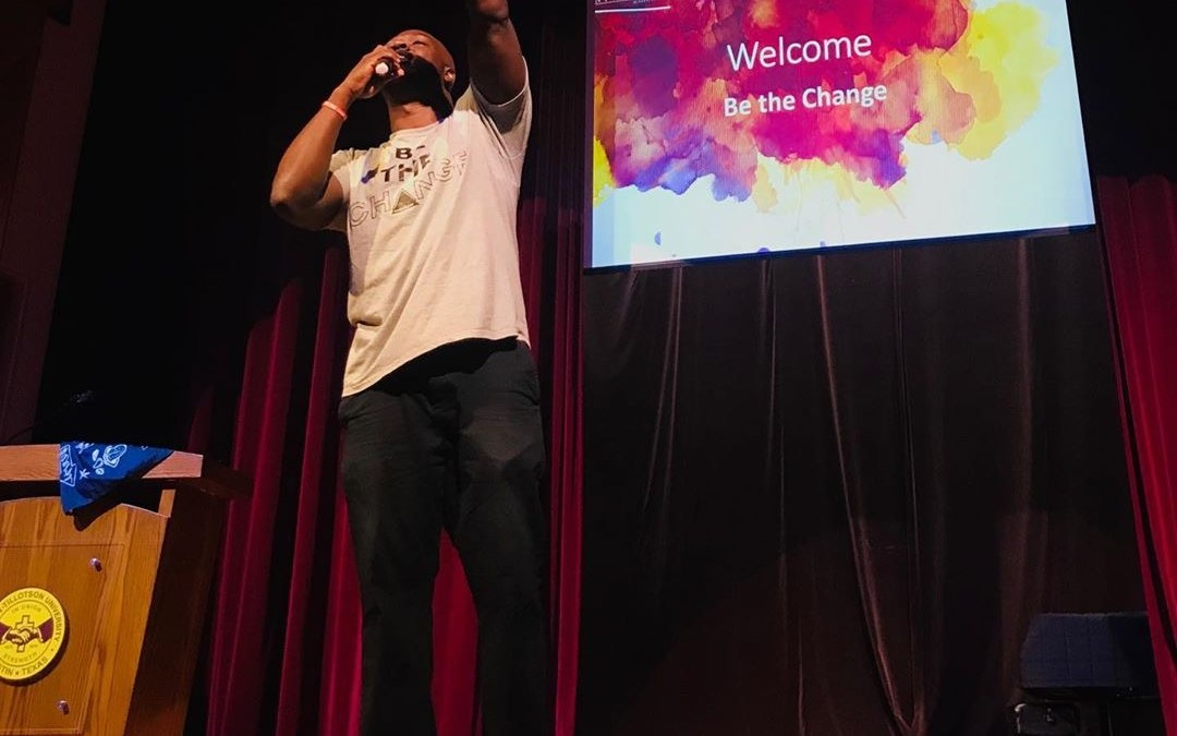 See What Happened at Be the Change in Austin, Texas!