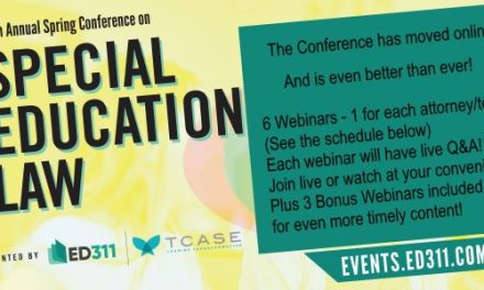 """A Follow-Up to """"Roundup of Important Cases"""" from the Spring Conference on Special Education Law"""