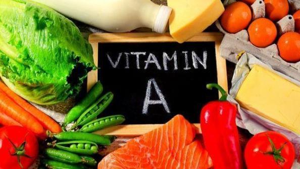 """Продукты богатые витамином """"А"""""""