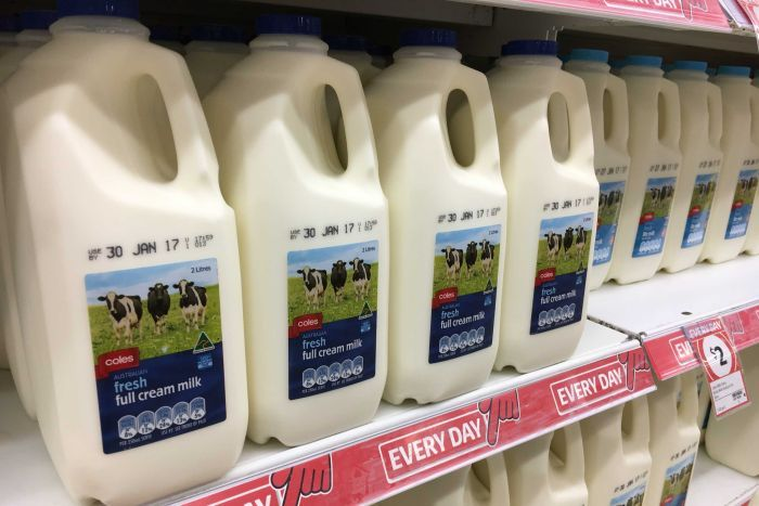 Dollar milk ends as Coles, Aldi fold to pressure with pledge to raise prices by 10 cents a litre