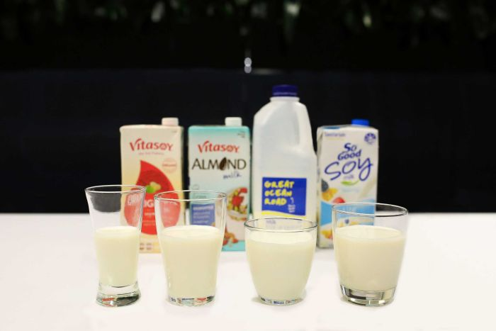 Does dairy need a closer look at its brand as people turn to what they believe are 'healthier' alternatives?