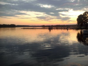 Ed Allen's Boats and Bait - Chickahominy Lake sunset